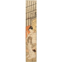 Isoda Koryusai: Courtesan (descriptive title) - Honolulu Museum of Art