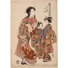 磯田湖龍齋: Courtesan Nanaya of Kadokanaya - ホノルル美術館