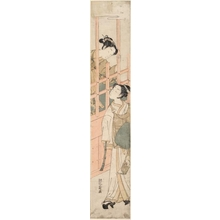 Isoda Koryusai: Man and Woman - Honolulu Museum of Art