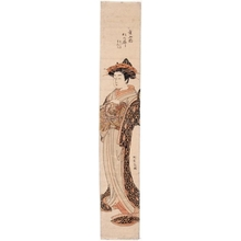 Isoda Koryusai: The Courtesan Matsunoi of the Matsubaya - Honolulu Museum of Art