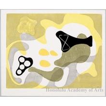 Onchi Koshiro: Poem No. 7: Landscape of May - Honolulu Museum of Art