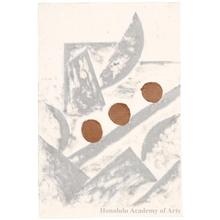 """Onchi Koshiro: Lyric No. 2: Lyric on Musical Themes Borodin, """"Scherzo"""" - Honolulu Museum of Art"""