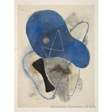 Onchi Koshiro: Poem No. 13 - Honolulu Museum of Art