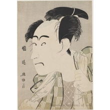 歌川国政: The Actor Ichikawa Danjürö VI - ホノルル美術館