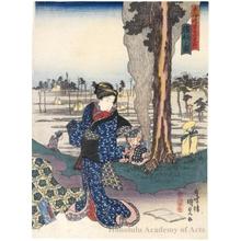 歌川国貞: Hamamatsu - ホノルル美術館