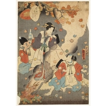 Utagawa Kunisada II: Chapter 38: Suzumushi - Honolulu Museum of Art