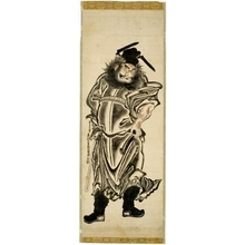 Okumura Masanobu: Shöki, the Demon Queller - Honolulu Museum of Art