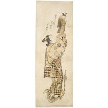 Okumura Masanobu: Sanogawa Ichimatsu With Puppet - Honolulu Museum of Art