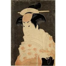 東洲斎写楽: The Onnagata Actor Iwai Hanshirö - ホノルル美術館