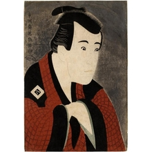 Toshusai Sharaku: Ichikawa Yaozö III in the role of Tanabe Bunzö - Honolulu Museum of Art