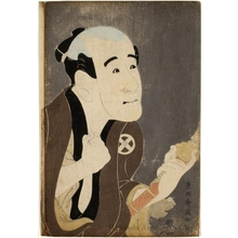 Toshusai Sharaku: Ötani Tokuji as a servant, Sodesuke - Honolulu Museum of Art