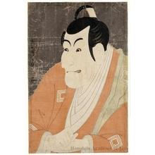 東洲斎写楽: Actor Ichikawa Ebizö as Takemura Sadanoshin in the play, Koi-Nyöbö Somewake Tazuna - ホノルル美術館
