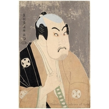 Toshusai Sharaku: Tanimura Torazö as Washizuka Hachiheiji - Honolulu Museum of Art