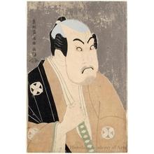 東洲斎写楽: Tanimura Torazö as Washizuka Hachiheiji - ホノルル美術館