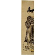 西村重長: Sanogawa Ichimatsu as Hisamatsu - ホノルル美術館