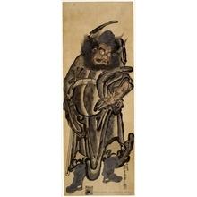 西村重長: Shöki the Devil Queller - ホノルル美術館