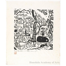 Munakata Shiko: The Garden - Honolulu Museum of Art