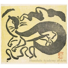 Munakata Shiko: Weasel - Honolulu Museum of Art