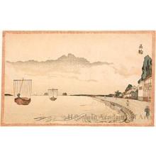 柳々居辰斎: Takanawa - ホノルル美術館