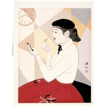 Ito Shinsui: Clock and Beauty No. 3 - Honolulu Museum of Art