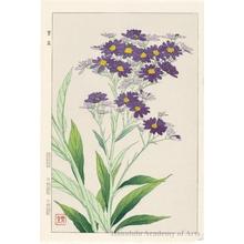 Kawarazaki Shödö: Garden Violet - ホノルル美術館
