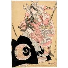Katsukawa Shun'ei: Ichikawa Yaozö III and Nakamura Noshio II - Honolulu Museum of Art