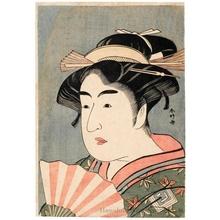 Katsukawa Shunko: Ichikawa Monnosuke II as O-some - Honolulu Museum of Art