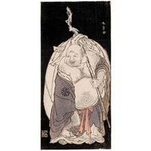 勝川春章: Hotei - ホノルル美術館