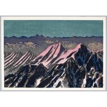 Yamaguchi Susumu: Mt. Hodaka at Daybreak - Honolulu Museum of Art