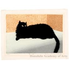 Miyashita Tokio: Black Cat - Honolulu Museum of Art
