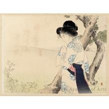 水野年方: A Mad Woman in Yawata - ホノルル美術館