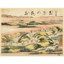 Utagawa Toyoharu: Night Rain in Yoshiwara - Honolulu Museum of Art