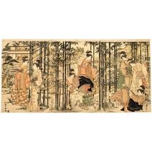 歌川豊広: May - ホノルル美術館