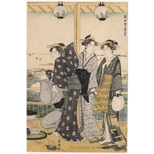 Utagawa Toyokuni I: Summer View - Honolulu Museum of Art