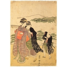 Utagawa Toyokuni I: Procession of Women - Honolulu Museum of Art