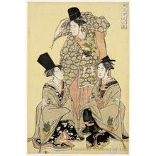 Utagawa Toyokuni I: Three Female
