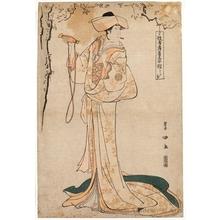 Utagawa Toyokuni I: Wata-ya Osagawa Tsuneyo II as Onoe - Honolulu Museum of Art