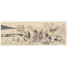 Utagawa Toyoshige: Cherry Blossom Viewing - Honolulu Museum of Art