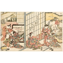 Ishikawa Toyonobu: Domestic Strife - Honolulu Museum of Art