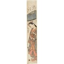 石川豊信: Ono no Komachi - ホノルル美術館