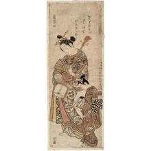 石川豊信: Sampukutsui Edo (A triptych: Edo) - ホノルル美術館