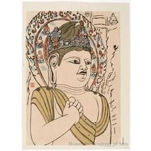 Hiratsuka Unichi: Stone Bodhisattva at Datong - Honolulu Museum of Art