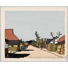 Hiratsuka Unichi: View of Azuchi - Honolulu Museum of Art