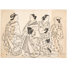 Unknown: Courtesans in Procession - Honolulu Museum of Art
