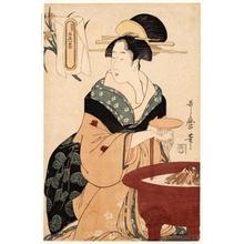 喜多川歌麿: Brazier - ホノルル美術館
