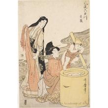 喜多川歌麿: Musashi - ホノルル美術館