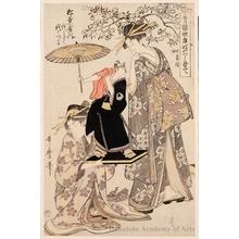 Kitagawa Utamaro: Yoyokiku and Yoyotsuru of the Matsubaya House - Honolulu Museum of Art