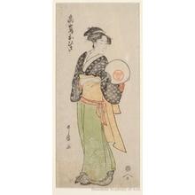 喜多川歌麿: Takashima Ohisa - ホノルル美術館