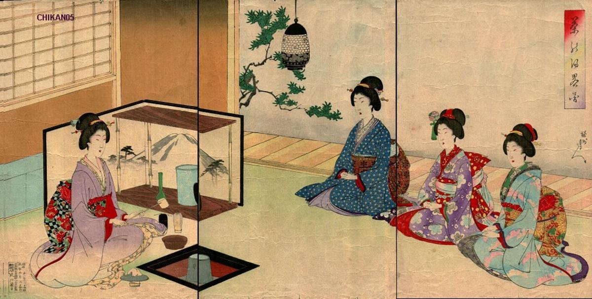 Japanese Tea Rooms History