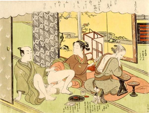 suzuki harunobu the mannekin voyeur 2   japanese art open